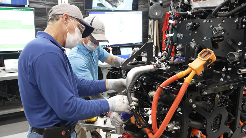 Toyota Motor Manufacturing Kentucky celdas de combustible