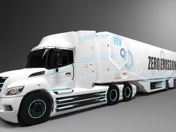 Toyota celdas de combustible camion