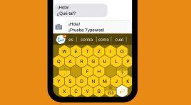 El teclado para smartphones de Typewise es la alternativa para tus chats