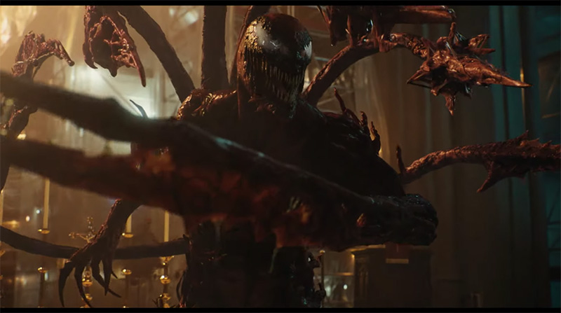 Venom Let There Be Carnage trailer agosto Carnage