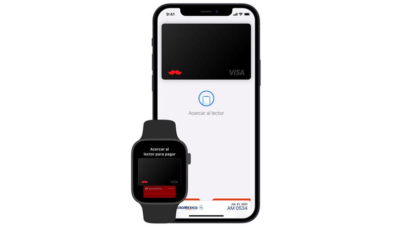 Visa Apple Pay tarjetas