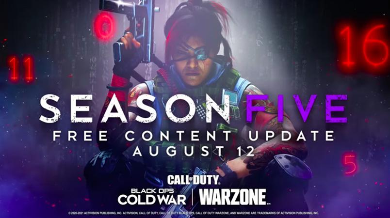 Warzone Temporada 5 cinematica