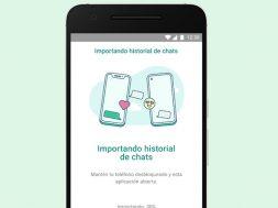 WhatsApp transferir iOS a Android