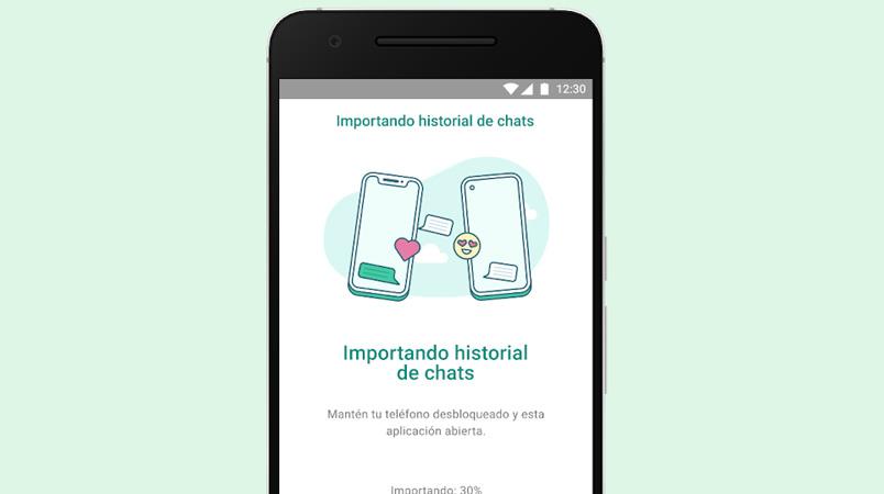 WhatsApp permite transferir tus chats entre sistemas operativos