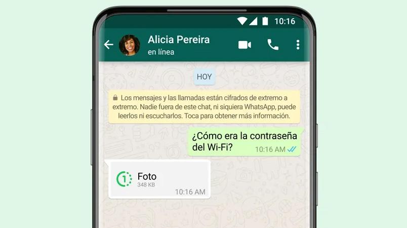Las fotos y videos que desaparecen están llegando a WhatsApp