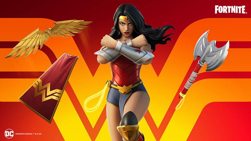 Wonder Woman Fortnite items