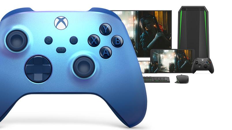 Xbox Aqua Shift Special Edition consolas