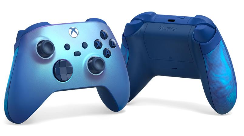 El nuevo control inalámbrico Xbox Aqua Shift Special Edition