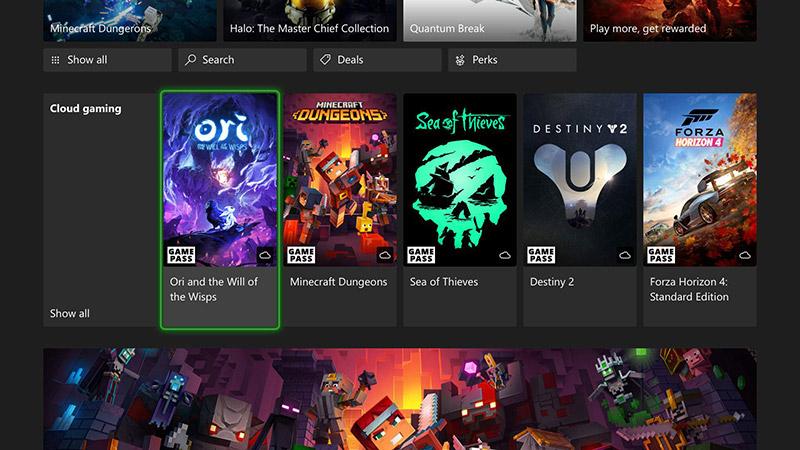 Xbox Cloud Gaming traerá los juegos en la nube a consolas Xbox