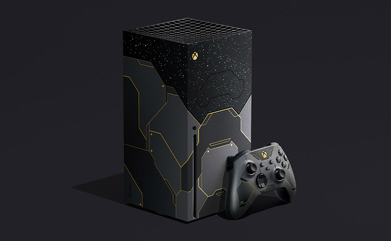 Xbox Series X Halo Infinite Edicion limitada precio