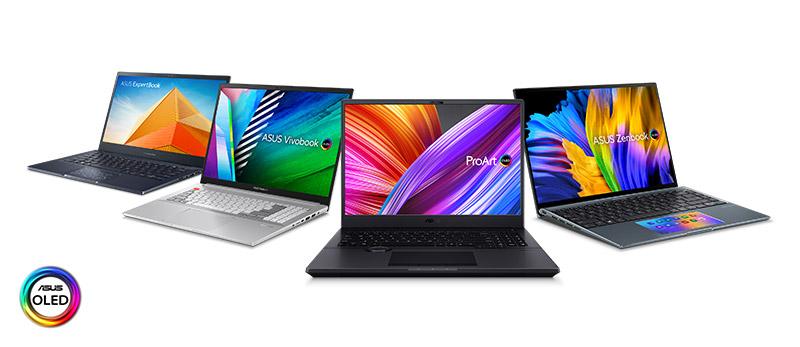 ASUS-OLED-Laptop-Lineup 2021