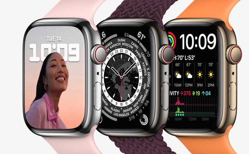 Apple Watch Series 7 con una pantalla más grande para tu salud