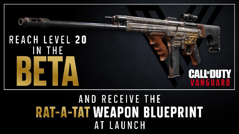 Beta abierta de Call of Duty Vanguard recompensas