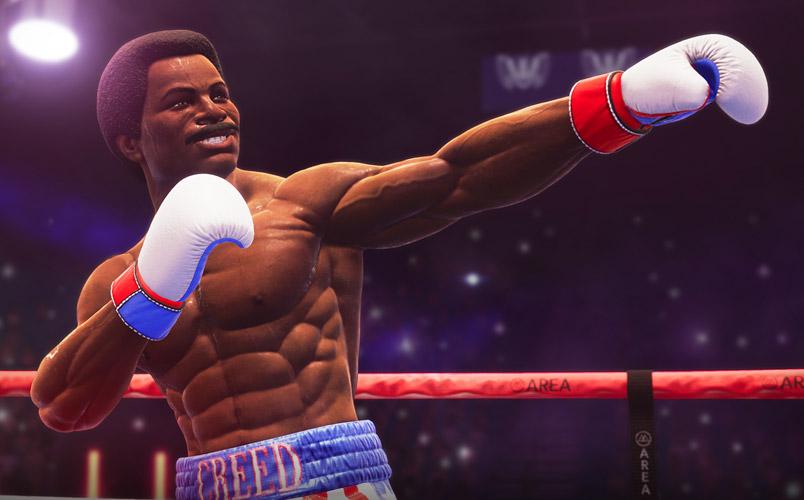 Boxea con los mejores en Big Rumble Boxing: Creed Champions