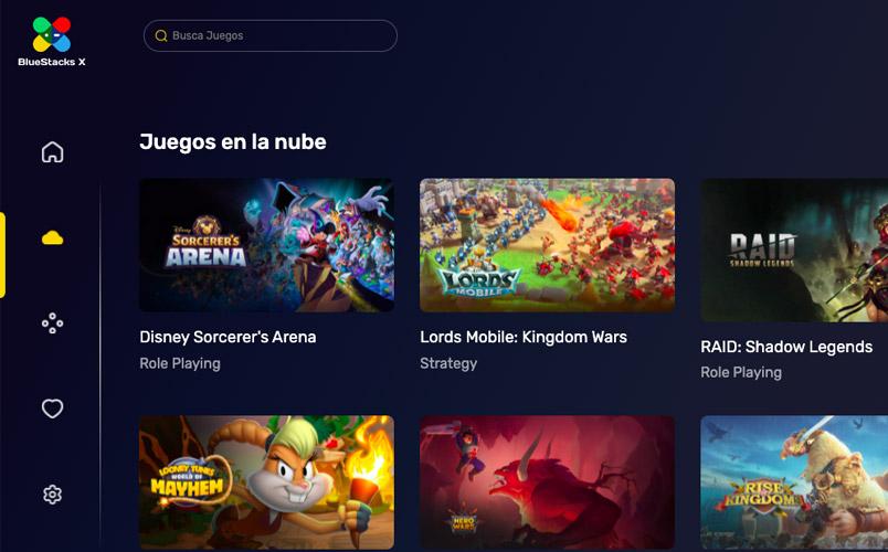 Con BlueStacks X disfruta de juegos de Android en tu navegador web