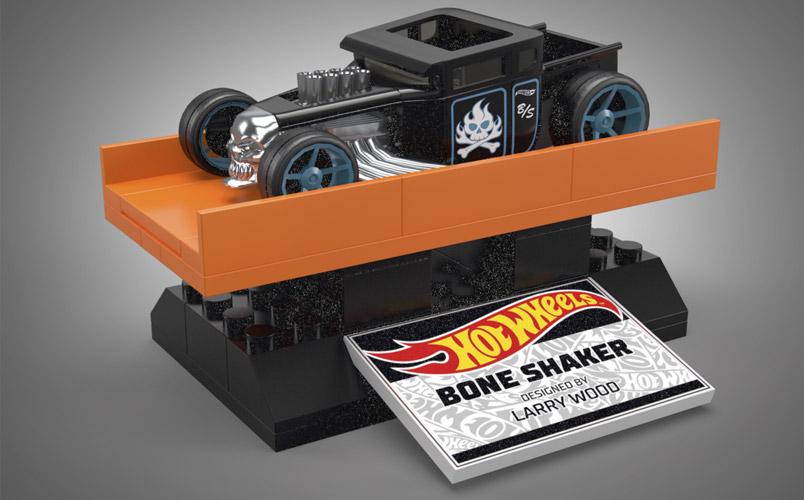 Bone Shaker Hot Wheels MEGA
