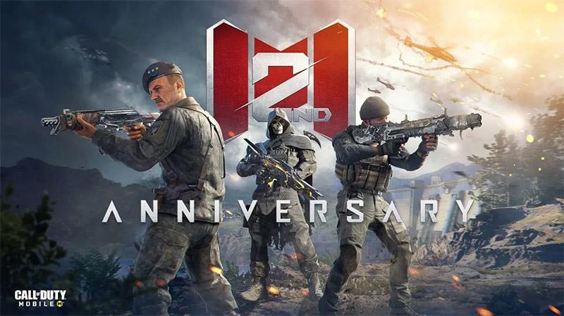 Call of Duty Mobile 2 aniversario
