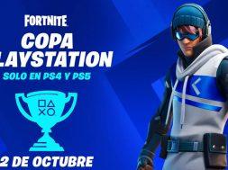 Fortnite PlayStation Cup octubre 2021