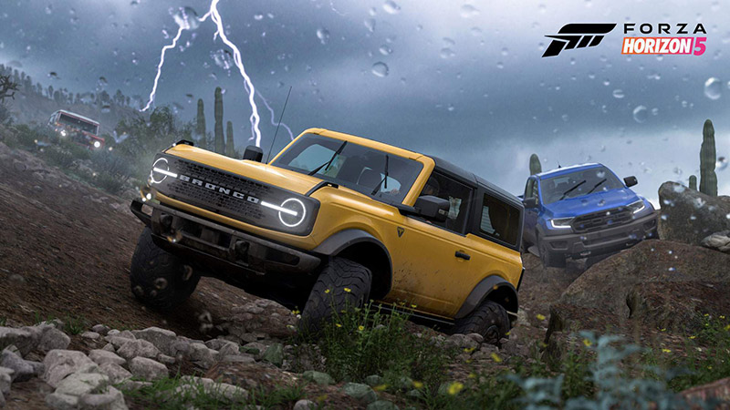Forza Horizon 5 lista coches