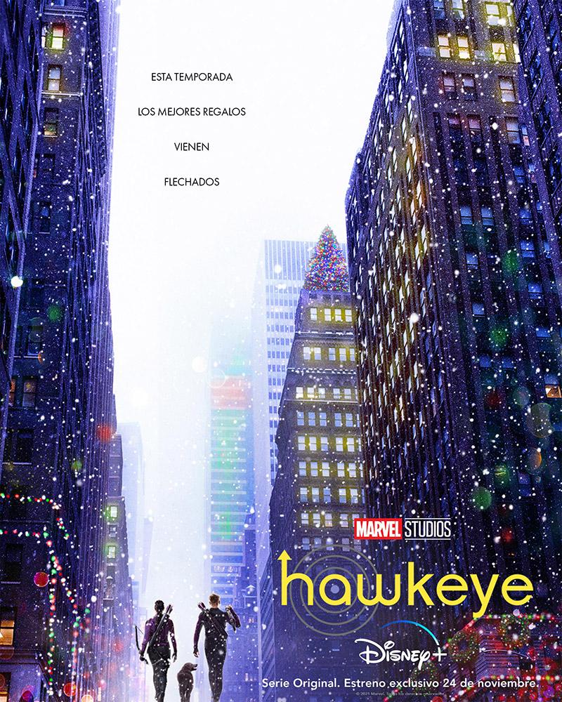 Hawkeye primer poster