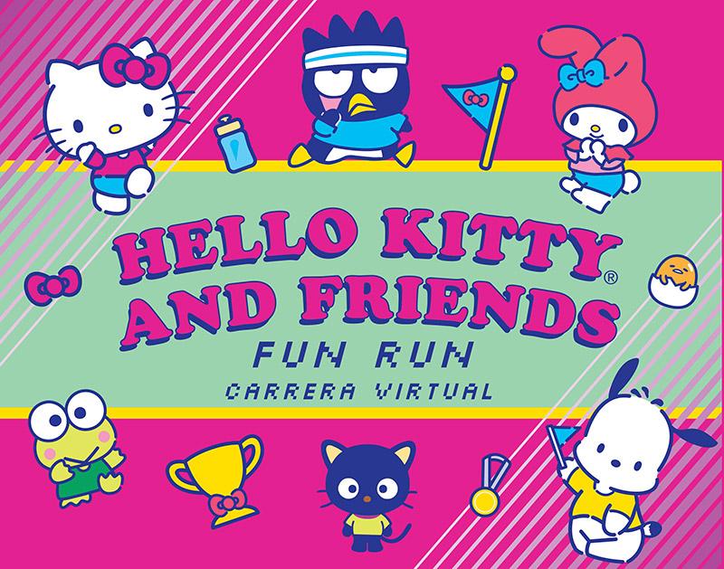 Hello Kitty Friends Virtual Fun Run 2021 Mexico 30 y 31 octubre