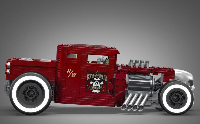 Hot Wheels y MEGA presentan una versión de Bone Shaker