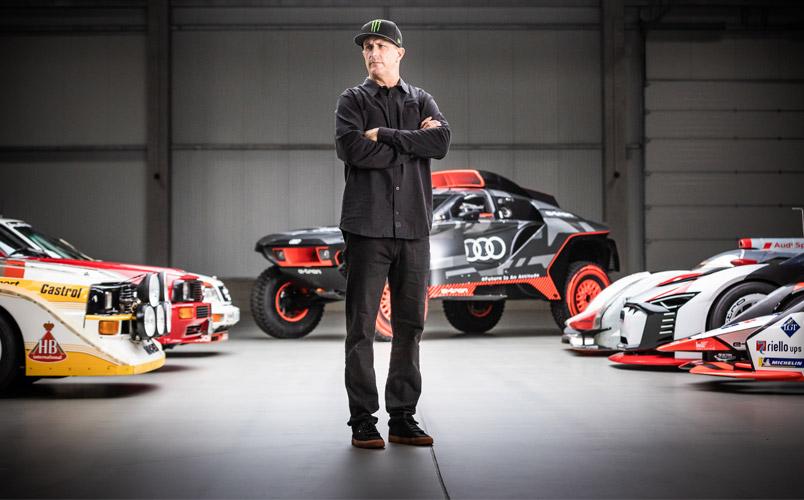 Ken Block es el nuevo líder para el futuro electrizante de Audi
