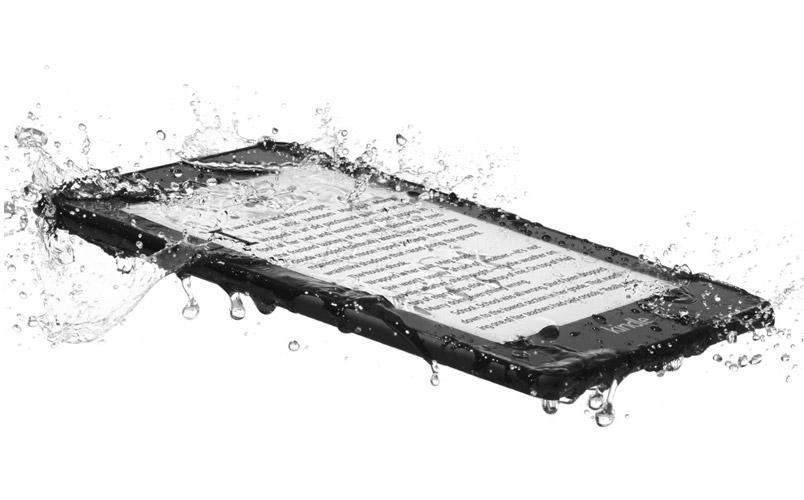 Kindle Paperwhite 5 rumores agua