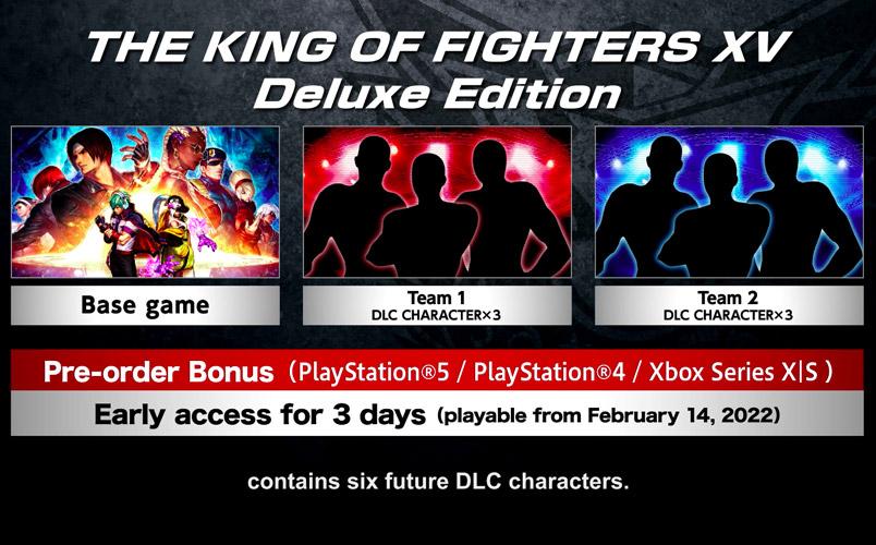 King Of Fighters XV ediciones