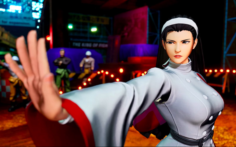 King Of Fighters XV peleadores