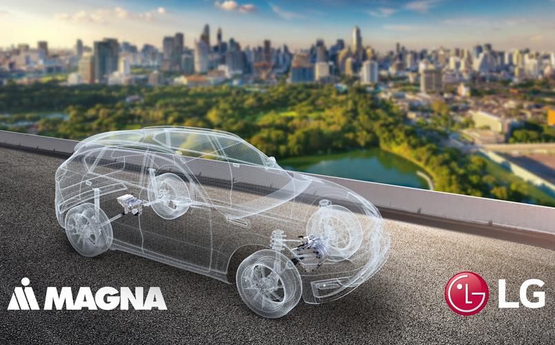 LG Magna e-Powertrain nueva empresa para vehículos eléctricos