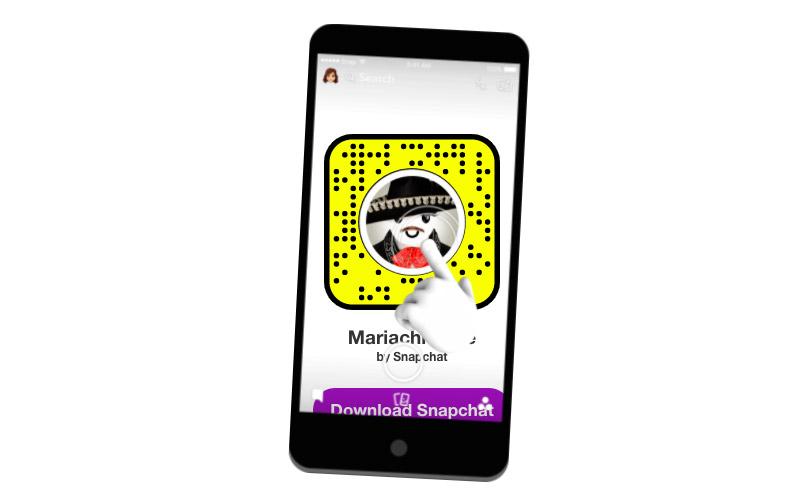Lentes Snapchat grito