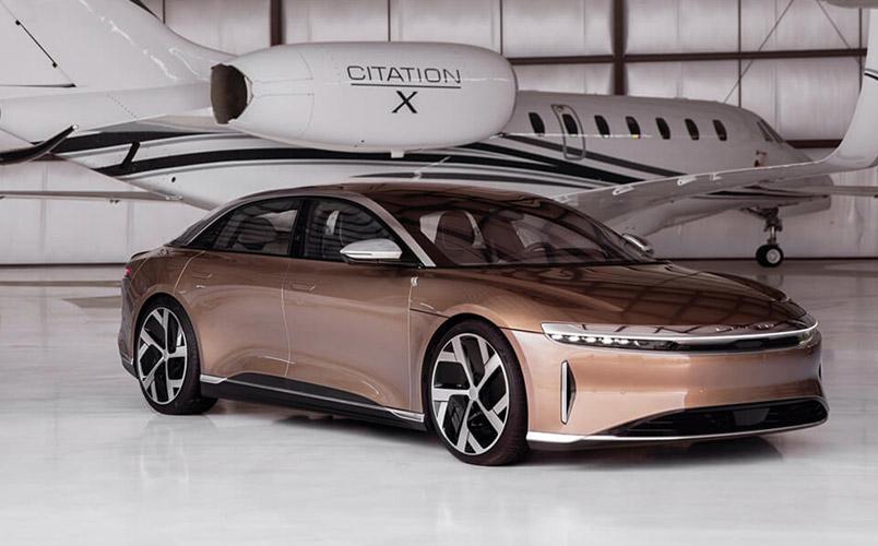 Lucid Air Dream Edition R autonomia