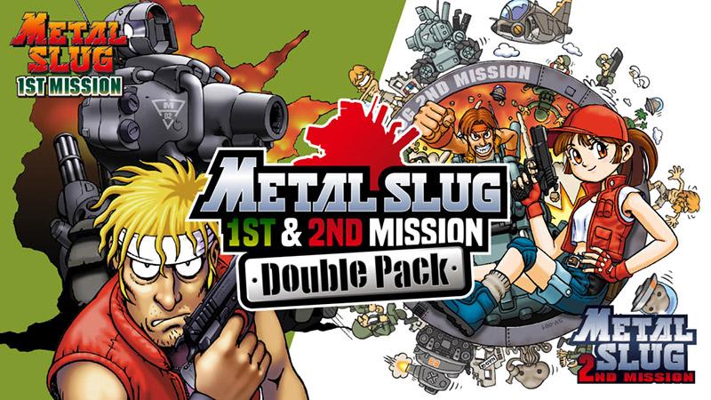 Metal Slug 1st & 2nd Mission Double Pack disponible para Switch