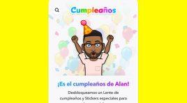 Felicita a tus amigos con los Mini de Cumpleaños de Snapchat