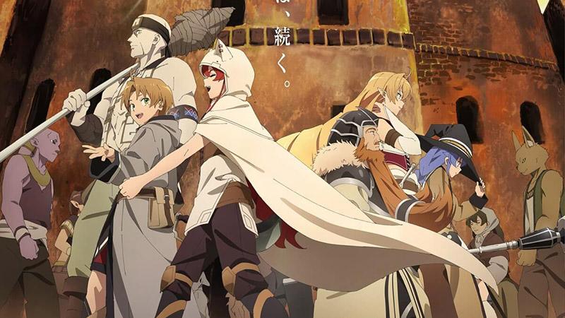 Mushoku-Tensei doblada Funimation