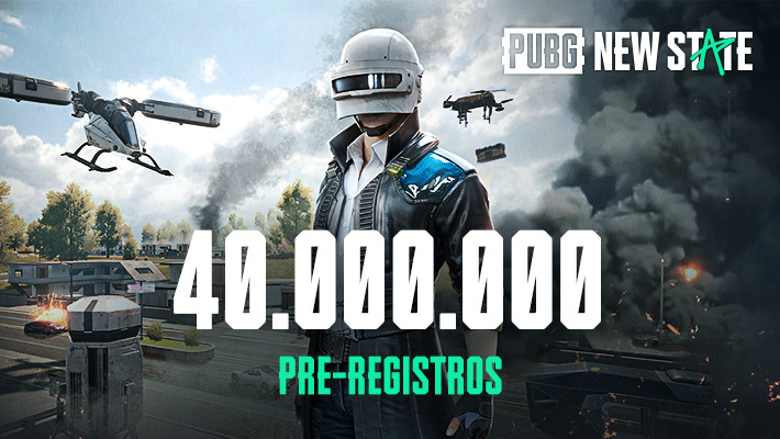 PUBG NEW STATE 40 millones