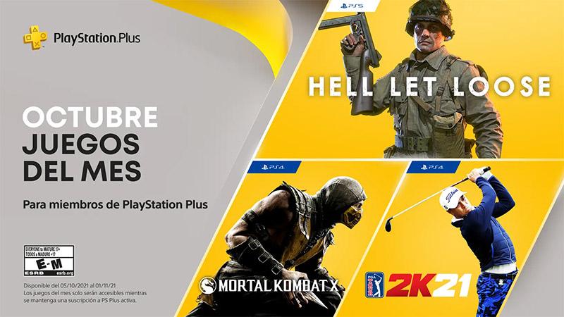 PlayStation Plus octubre 2021