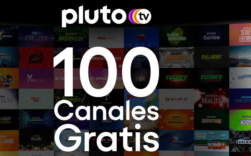 Pluto TV 100 canales Latam