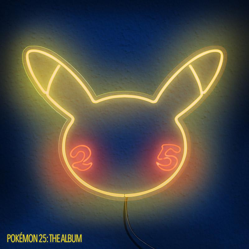 Pokemon P25 Album Arte