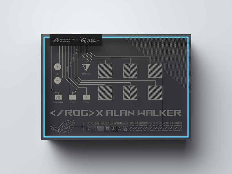 ROG Zephyrus G14 Alan Walker SE Package ROG Remix