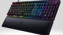 El nuevo Razer Huntsman V2 es el teclado más rápido del mundo