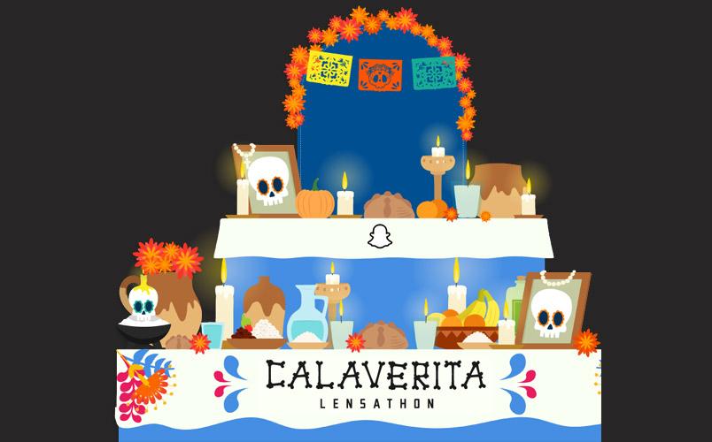 Snap Calaverita Lensathon Mexico