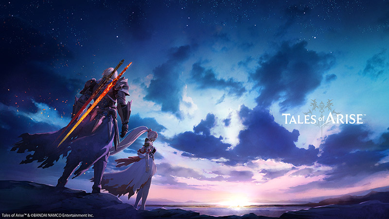 Tales of ARISE arte lanzamiento