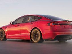 Tesla Model S Plaid Nurburgring record