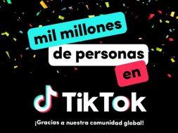 TikTok mil millones de usuarios