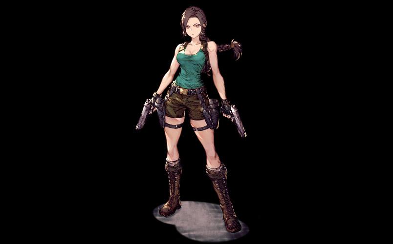 Unidad Lara Croft War Of The Visions Final Fantasy Brave Exvius