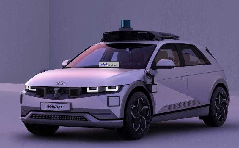 Robotaxi IONIQ 5 ofrecerá viajes sin conductor para el 2023