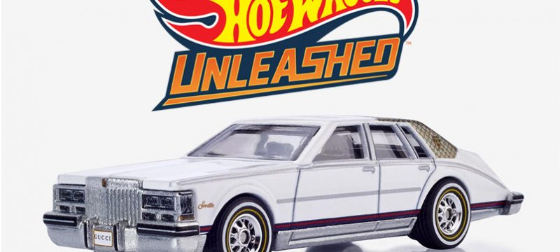Cadillac Seville by Gucci Hot Wheels Unleashed