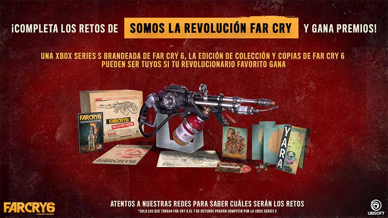 Far Cry 6 Streaming-Retos
